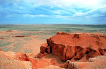 Bayan Zagh, The Flaming Cliffs of Mongolia's Gobi Desert_9624997