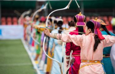 Naadam festival Mongolia archery_1136583542