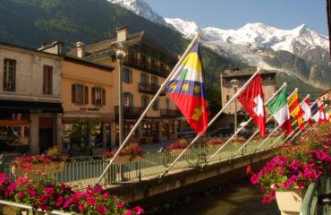tmb Chamonix town