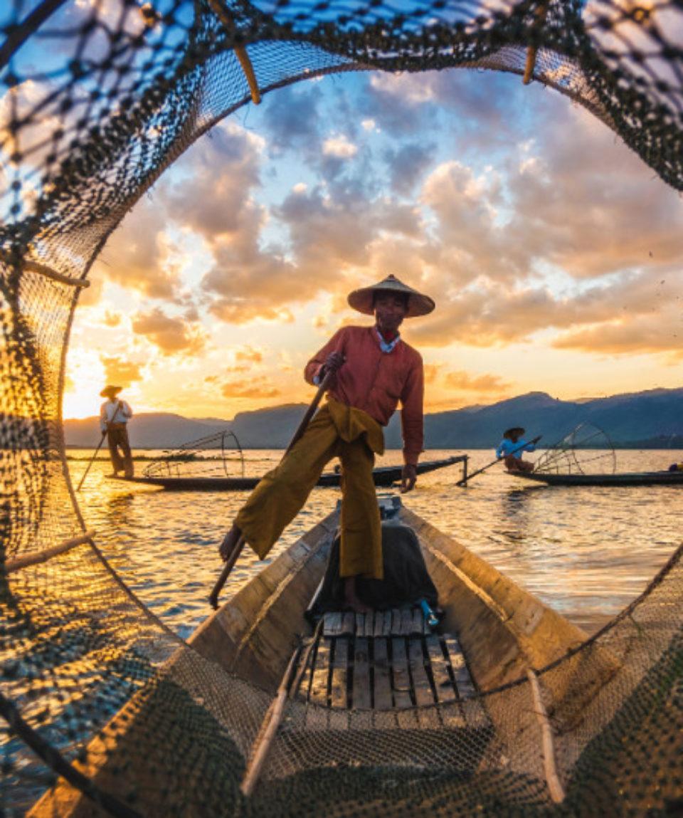 FEATURED IMAGE Myanmar Inle Lake Intha Fishermen_748449202