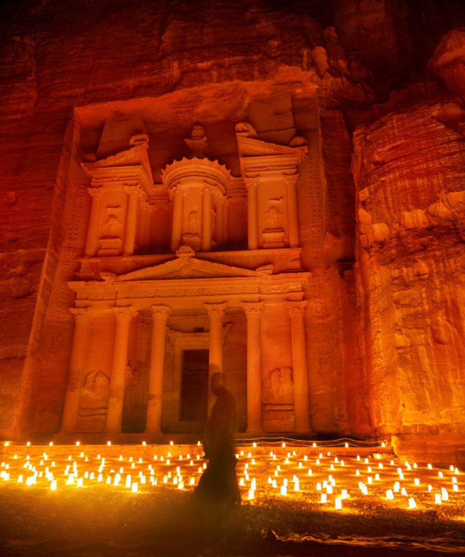 FEATURED IMAGE Petra by night, Jordan_538280491