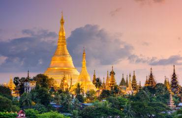 Shwedagon Pagoda at dusk, Myanmar_328520822