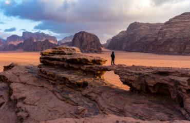 The red desert of Wadi Rum in Jordan_789857815