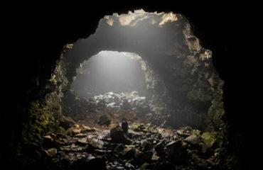 Raufarholshellir lava cave, South Iceland_707700613