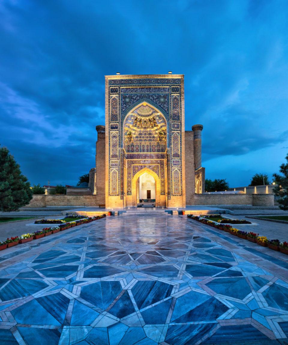 FEATURED IMAGE Gur-e-Amir - Tamerlane Mausoleum Samarkand, Uzbekistan_1078449959