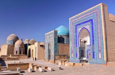 Shah I zinda Necropolis Samarkand Uzbekistan_517534027 (1)