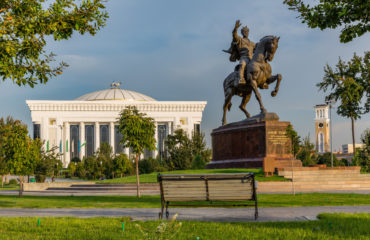 Uzbekistan Tamerlane Statue_581615860