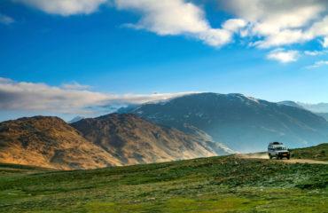 Himalayan valley landscape near Kunzum La pass, Spiti Valley_1125133187