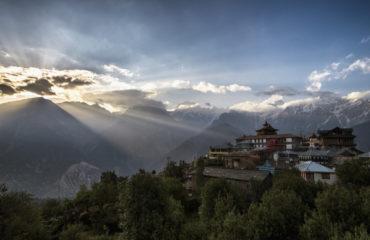 Kalpa region of Kinnaur Kailash - Himachal Pradesh_633141467