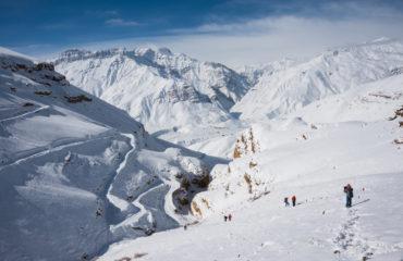 Winter Trekking in Spiti Valley, Himachal Pradesh_